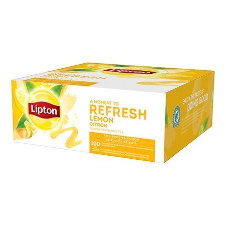 Lipton Classic Lemon 100 kopert (cytryna)