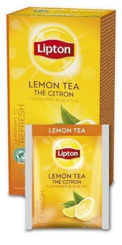Lipton Classic Lemon (herbata czarna z nutą cytryny) 25 kopert