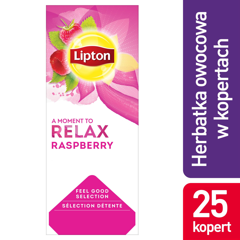 Lipton Classic Raspberry (Herbatka malinowa) 25 kopert -