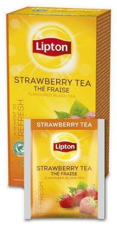 Lipton Classic Strawberry (herbata czarna z nutą truskawki) 25 kopert