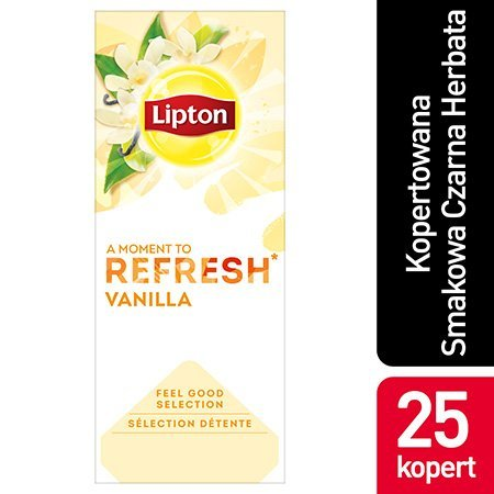 Lipton Classic Vanilla (herbata czarna z nutą wanilii) 25 kopert