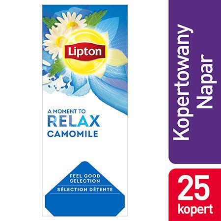 Lipton Feel Good Selection Camomile (Herbatka z rumianku) 25 kopert -