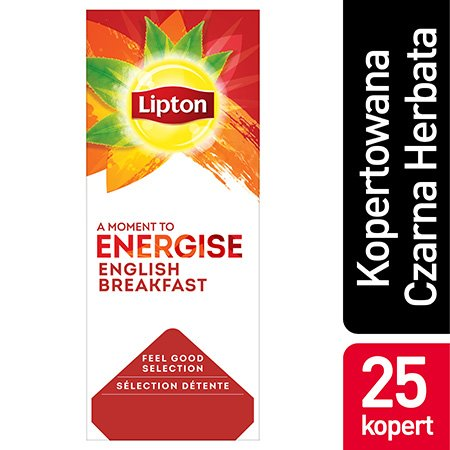 Lipton Feel Good Selection English Breakfast (Kompozycja czarnych herbat) 25 kopert -