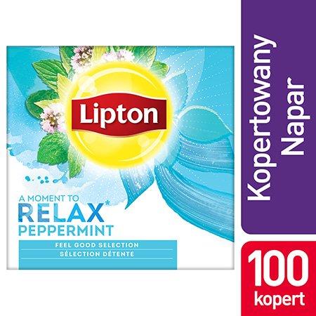 Lipton Feel Good Selection Peppermint (Herbatka miętowa) 100 kopert -