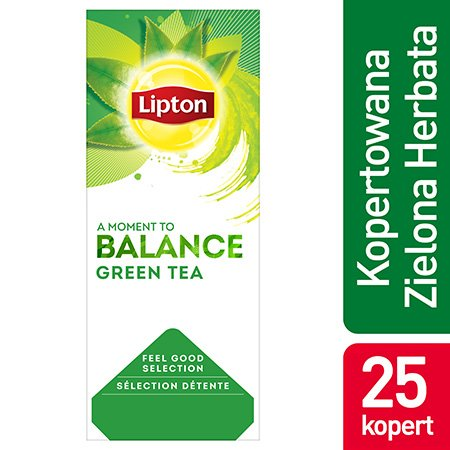 Lipton Feeld Good Selection Green Tea (Zielona Herbata Klaryczna) 25 kopert -