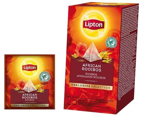Lipton Piramda Rooibos 25 kopert