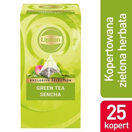 Lipton Piramida Green Tea Sencha (Zielona herbata) 25 kopert -