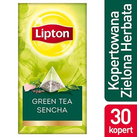 Lipton Piramida Green Tea Sencha (Zielona herbata) 30 kopert -