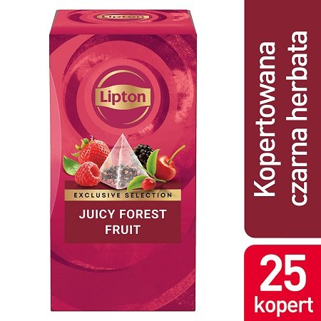 Lipton Piramida Juicy Forest Fruits (Owoce Leśne) 25 kopert -