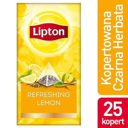 Lipton Piramida Lemon (Cytrynowa) 25 kopert -