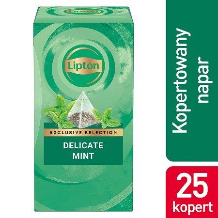 Lipton Piramida Mint (Mięta) 25 kopert -