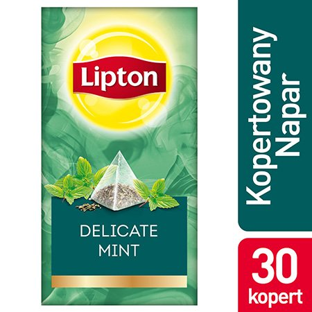 Lipton Piramida Mint (Mięta) 30 kopert -