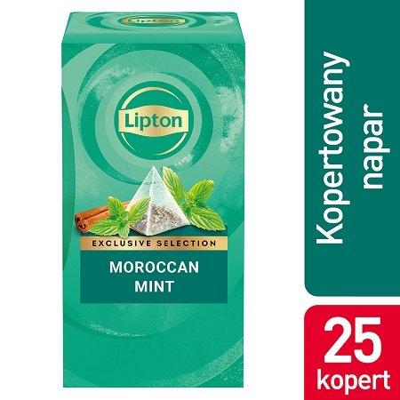 Lipton Piramida Moroccan Mint (Marokańska mięta) 25 kopert  -