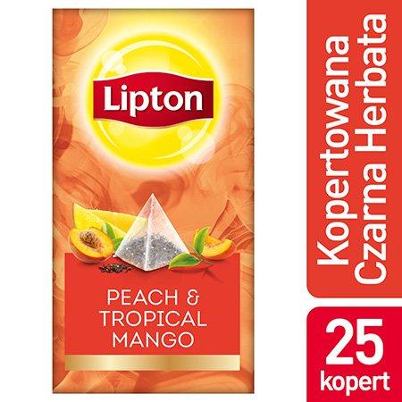 Lipton Piramida Peach Mango (Brzoskwinia i mango)