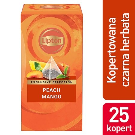 Lipton Piramida Peach Mango (Brzoskwinia & Mango) 25 kopert -