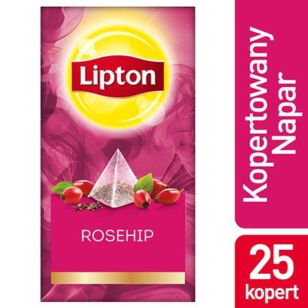 Lipton Piramida Rosehip (Dzika róża) 25 kopert -