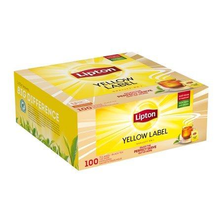 Lipton Yellow Label 100 torebek ekspresowych