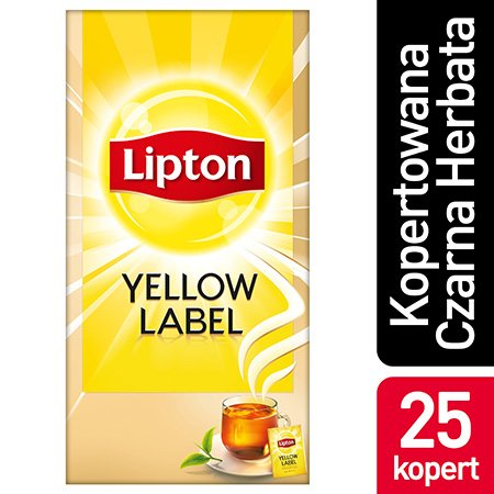 Lipton Yellow Label 25 kopert