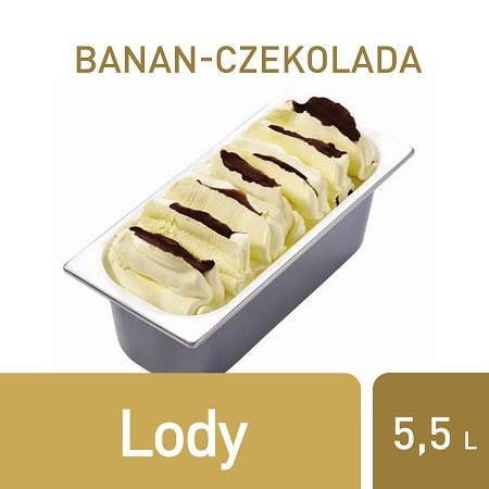 Lody Banan-czekolada Carte d'Or  -