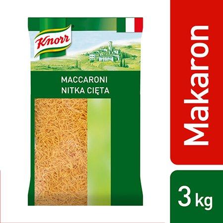 Maccaroni (Nitka cięta) Knorr 3 kg -