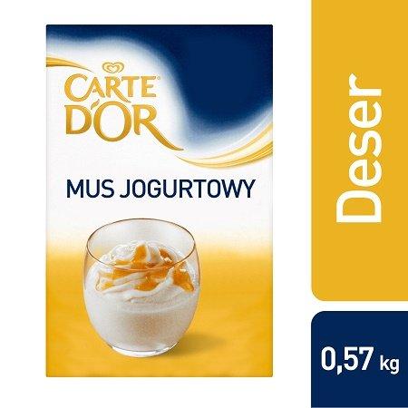 Mus o smaku jogurtowym Carte d'Or 0,57kg -