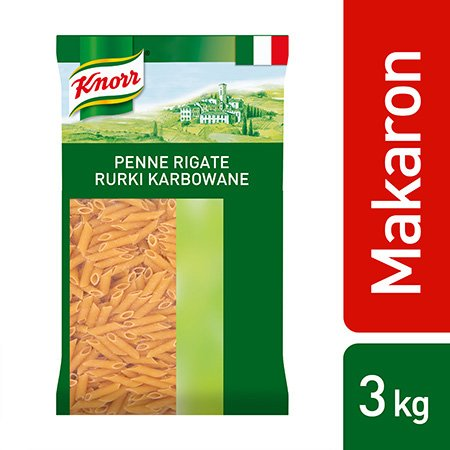 Penne Rigate (Rurki karbowane) Knorr 3 kg