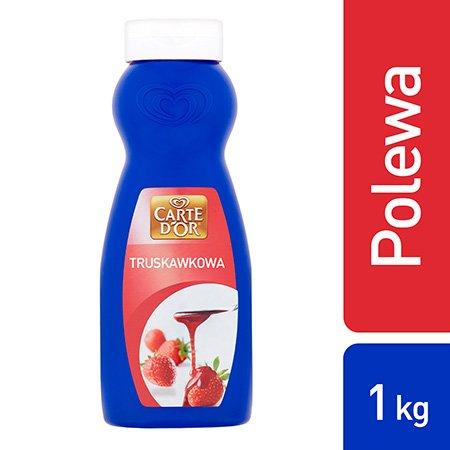 Polewa truskawkowa Carte d'Or 1kg -