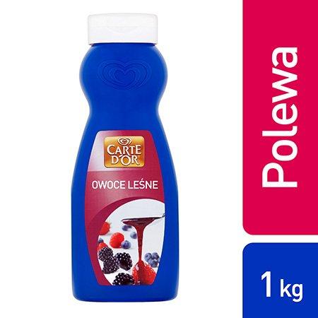 Polewa z owoców leśnych Carte d'Or 1kg -