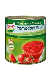 Pomodori Pelati (pomidory w całości bez skórki) 2,5kg Knorr