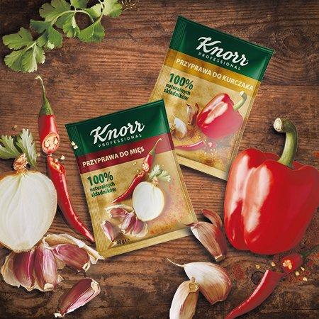 Próbki Przypraw Knorr Professional 100% naturalnych składników -