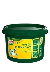 Rosół jarzynowy baza Knorr 1-2-3 3,5kg -