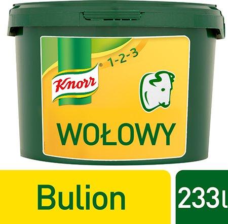 Rosół wołowy Knorr 1-2-3 3,5 kg -