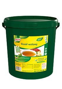 Rosół wołowy Knorr 12,5kg -