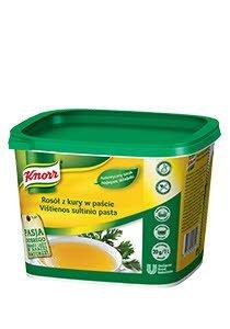 Rosół z kury w paście Knorr 1kg