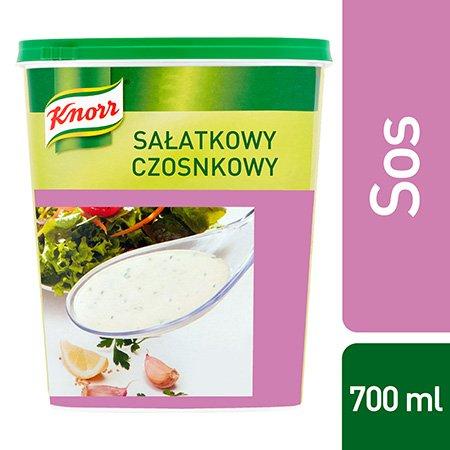 Sos sałatkowy czosnkowy Knorr 0,7kg