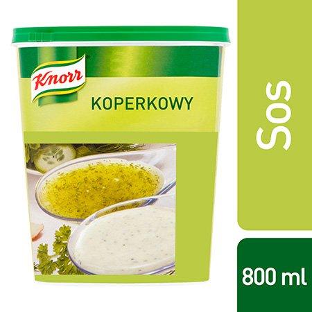 Sos sałatkowy koperkowy Knorr 0,8 kg -