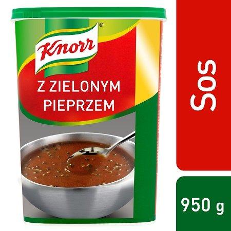 Sos z zielonym pieprzem Knorr 0,85 kg -