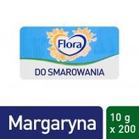 Flora 1-porcjowy tłuszcz do smarowania 200x10g