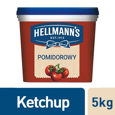 Hellmann's Ketchup 5 kg - Ketchup Hellmann's jest produkowany z najwyższej jakości pomidorów.