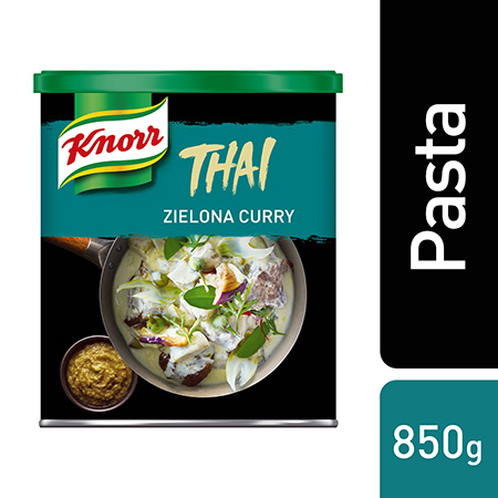 Knorr Zielona pasta curry 850 g - Poznaj receptury, porrady i produkty do dań orientalnych. Wejdź na Przepisy, porady i filmy na ufs.com/kuchnieswiata