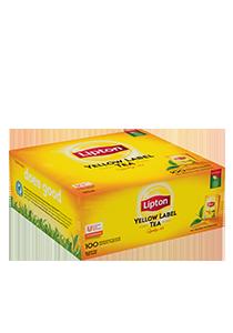 Lipton Yellow Label 100 kopert - Lipton Yellow Label zapewnia perfekcyjny sposób podania herbaty.