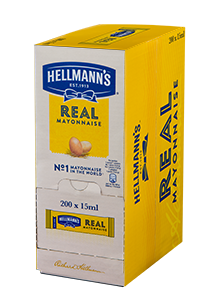 Majonez Hellmann's w saszetkach 15 ml x 200 szt.