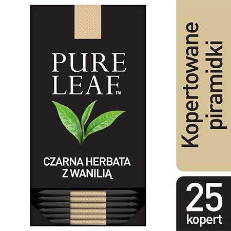 Pure Leaf Black Vanilla Milima 25 kopert