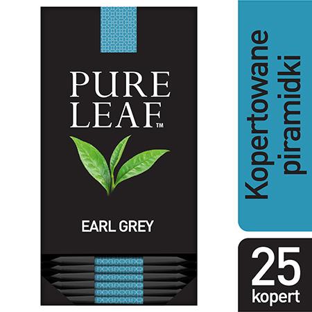 Pure Leaf Earl Grey 25 kopert - Zapoznaj się z naszymi akcesoriami i oczaruj swoich gości niecodziennym rytuałem.