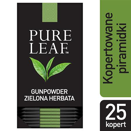 Pure Leaf Green Tea Gunpowder 25 kopert - Zapoznaj się z naszymi akcesoriami i oczaruj swoich gości niecodziennym rytuałem.