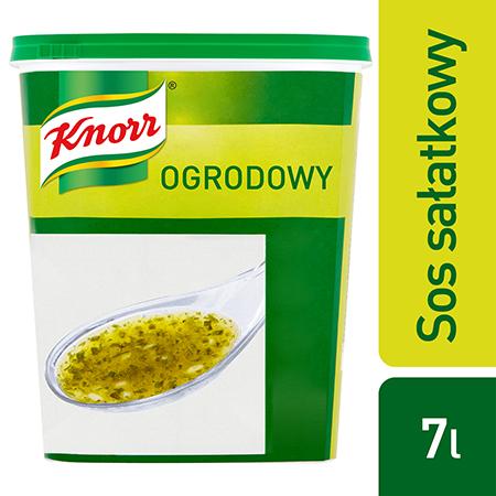 Sos sałatkowy ogrodowy Knorr 0,7 kg - Nasz sos doskonale smakuje i zachowuje świeży wygląd na dłużej.