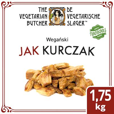The Vegetarian Butcher Jak Kurczak (No Chicken Chunks) 1,75 kg - Wyroby oparte na produktach roślinnych, bazujące na smaku i teksturze mięsa zwierzęcego.