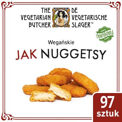 The Vegetarian Butcher Jak Nuggetsy (No Chicken Nuggets) 1,75 kg - Wyroby oparte na produktach roślinnych, bazujące na smaku i teksturze mięsa zwierzęcego.