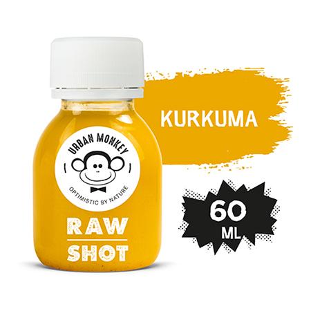 Urban Monkey Raw Shot KURKUMA 60 ml - Odkryj portfolio Urban Monkey!