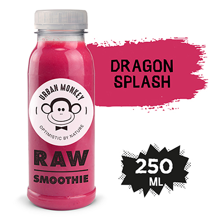 Urban Monkey Raw Smoothie Dragon splash 250 ml - Odkryj portfolio Urban Monkey!